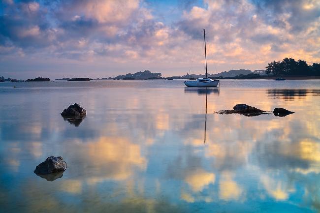Photo paysage esprits de bretagne la baie saint anne for Agence paysage bretagne